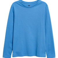 Jersey Shirt - Blue - Kids | H&M US