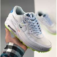 NIKE W AIR Eco-friendly Earth Color Hook MAX 90 Sports Running Shoes