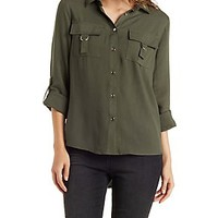 UTILITY BUTTON-UP SHIRT