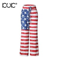 American Flag Clothing Flare Pants