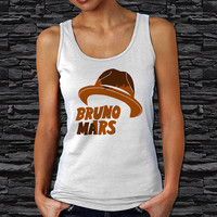 Hat Bruno Mars Pop Singer Woman Tank Top (Color Available)