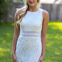 Only One Cocktail Dress - Ivory