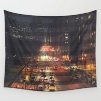 New York City Wall Tapestry by Urban Exclaim