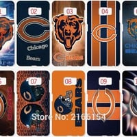 Chicago Bears Phone Cover For Samsung Galaxy Core G360 i9082 S3 S4 S5 Mini S6 S7 Edge E5 E7 Note 2 3 4 5 C5 J5 J7 Prime Case