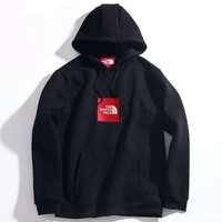 The North Face High Quality Fashion Casual Long Sleeve Print Pullover Hoodie Sweater G-A-HRWM