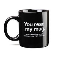 Enough Social Interaction Mug