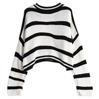 Deon Striped Pullover