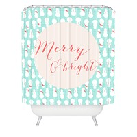 Allyson Johnson Merry And Bright Shower Curtain