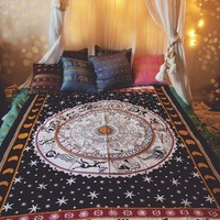 Astrology Bed Throw & Wall Hanging.