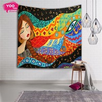 Indian Tapestry Beach Tapestry Wall Decoration Fabric Tapestry Hanging Wall Tapestries, Free Shipping