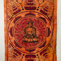 Thousand Petal Lotus Buddha Tapestry