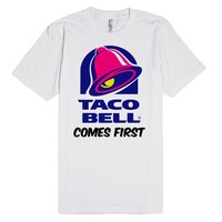 Taco bell comes first