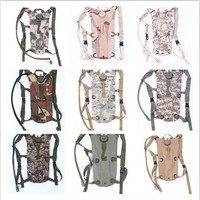 J.SH Brand Men Military Tactical TPU Water Backpack 600D Oxford Outdoor Camping Hiking Hunting Cycling Water Bag 3L