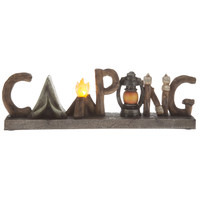 Camping Word Lighted Resin Sign | Hobby Lobby | 1132638