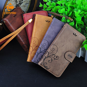 CORNMI Cell Phone Cases Wallet Leather Flip Case Cover For iPhone 5 6 6 Plus For Samsung S6 S7 For Huawei P9 Sony Z3 Z5 LG G3 G5