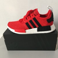 ADIDAS ORIGINALS NMD_R1 RED/BLACK/WHITE BB2885 EXCLUSIVE TRAINERS SIZES UK 9,10.