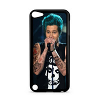 5sos Ashton Irwin Tattoos hair blue Ipod Touch 5 Case