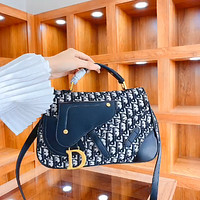 Dior new women's D letter handbag shoulder bag