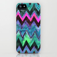 PATTERN {chevron 011} iPhone & iPod Case by Schatzi Brown