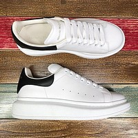 Alexander McQueen Classic white shoes-37
