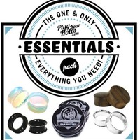 Essentials Plug and Tunnels Pack