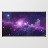 galaxy Area & Throw Rug by Andrewsaurus