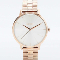 Nixon Kensington Rose Gold Watch - Urban Outfitters