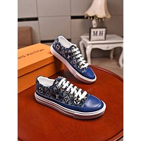lv fashion men womens casual running sport shoes sneakers slipper sandals high heels shoes 30