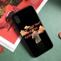 Tyler the Creator Trend slogan memes Soft silicone Phone Case cover Shell For Apple iPhone 5 5s Se 6 6s 7 8 Plus X XR XS MAX