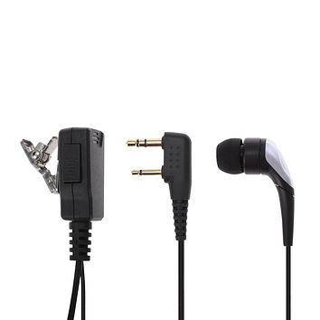 SH - CT Walkie Talkie Headset with Clip and Mic