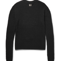 Rick Owens - Ribbed Cashmere-Blend Sweater
