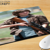 Carl Grimes The Walking Dead Mousepad Mouse Pad|iPhonefy