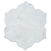 Khitta White Marble Charger by John Robshaw