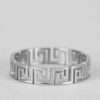 Mister Greek Cutout Ring - Urban Outfitters