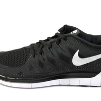 Nike Men's Free 5.0 Black/White Running Shoes 642198 001