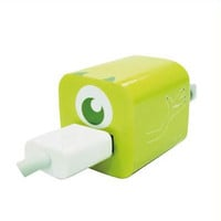 Disney Iphone Charger USB Skin Sticker Wrap -Sticker Only Not Include Charger (Mike Wzowski)