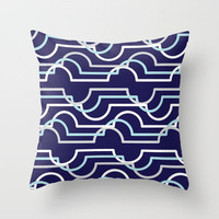 Cloud Geometry Throw Pillow by Dale Keys | Society6