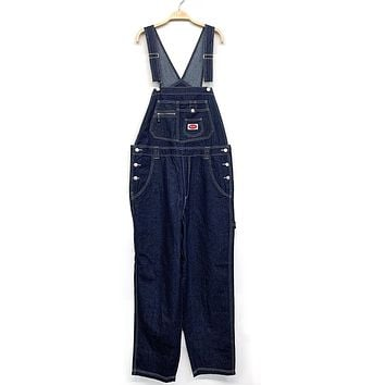 South Side Denim Overalls - Plus Size