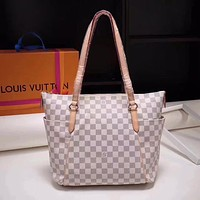 LV Louis Vuitton DAMIER CANVAS Totally HANDBAG TOTE BAG
