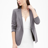 FOREVER 21 Classic Notched Collar Blazer
