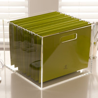 Russell+Hazel Acrylic File Box - See Jane Work