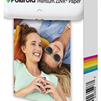 Polaroid 2x3 inch Premium ZINK Photo Paper (30 Sheets) - Compatible With Polaroid Snap, Z2300, SocialMatic Instant Cameras & Zip Instant Printer