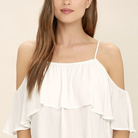 Exquisite Beauty White Top