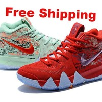 [ Free  Shipping]  Nike Kyrie 4 EP Basketball Shoes