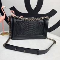New Designer CHANE SIZE 25.5*15*7.5 CM Double C Women Leather silver and gold on Chain cross body bag Chane vintage Chanl jumbo Handbag tote shoulder bags