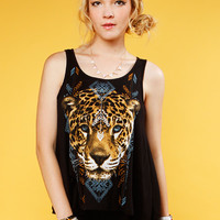 TIGER GRAPHIC TOP