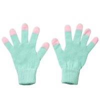 Tip Top Gloves - Mint/Pink - Donna Wilson