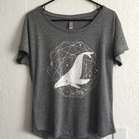 Whale Off Shoulder Tee