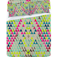DENY Designs Home Accessories   Pattern State Triangle Summer Sheet Set