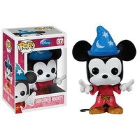 Fantasia Sorcerer Mickey Mouse Pop! Vinyl Figure - Funko - Fantasia - Pop! Vinyl Figures at Entertainment Earth